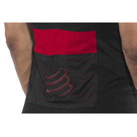 Compressport Trail Running Postural Short Sleeve Top Men Black